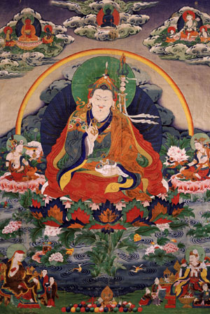 Padmasambhava Guru Rinpoche Founder of the Nyingma Tradition of Tibetan Buddhism Pema Jungne